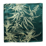 Cannabis Flower Pocket Square