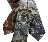Capricorn Constellation Neckties, Accessories for Men, by Cyberoptix