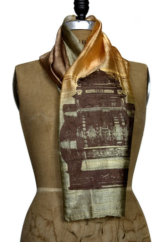 Cash Register Silk Scarf