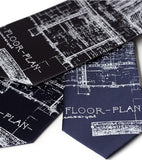 blueprint neckties, by Cyberoptix