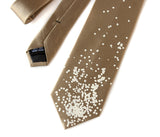Champagne and Caviar Silk Necktie
