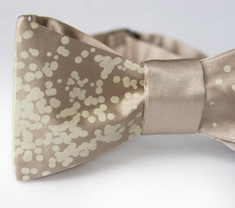 Champagne and Caviar Bow Tie