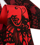 Black ink on crimson, red, burgundy microfiber