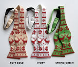 Ugly Christmas Sweater bowties, by Cyberoptix
