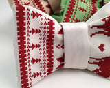 White Ugly Holiday Sweater bow ties, by Cyberoptix