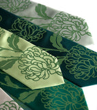 Clover green ink on green microfiber range