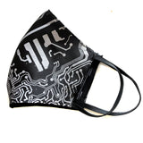Circuit Board Face Mask, washable fashion fabric face cover