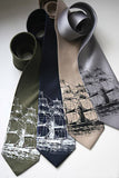 Sailing Ship Printed Neckties, by Cyberoptix.