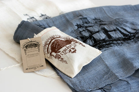 Clipper Ship Silk Scarf