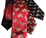 Fire Rooster Printed Men's Ties, Cyberoptix Tie Lab