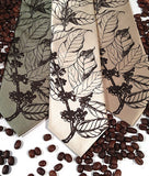 Coffee Bean Neckties.
