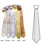 Notebook Paper Neckties: color array.