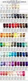 Cyberoptix necktie color chart, all solid color tie colors