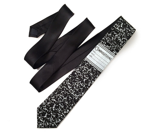 Composition Book Necktie, notebook tie