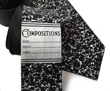 Composition Book tie