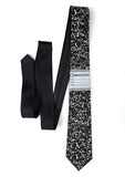 Black Composition Book necktie