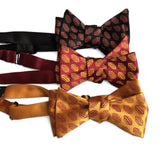 Hot Dog Print Bow Ties, Cyberoptix Tie Lab