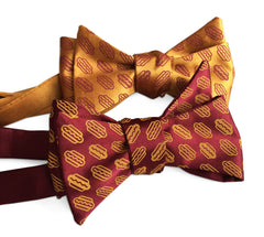 Coney Dog Bow Tie. Wieners! Hotdog Party Printed Bowtie