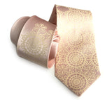 Cottage Lace Silk Necktie