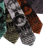 Locomotive Neckties, by Cyberoptix