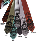 Train Neckties, by Cyberoptix