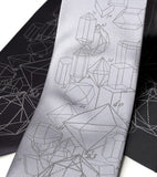 Crystal Math Neckties, by Cyberoptix