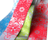 Custom Color Printed Skinny Ties