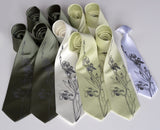 cyberoptix wedding neckties, big and tall groomsmen ties