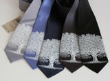 cyberoptix wedding neckties, groomsmen ties in extra long