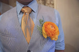 Hops and Wheat Print Groomsman Ties, by Cyberoptix
