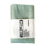 "Cyberoptix Mint Green Linen Wedding Pocket Square, ""Spirit"" of Detroit"