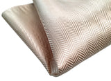 ivory woven herringbone silk wedding pocket square, by Cyberoptix