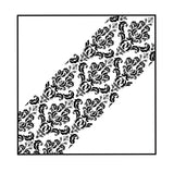 Damask Print Pocket Square