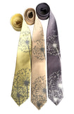 Dandelion Wish Neckties, by Cyberoptix