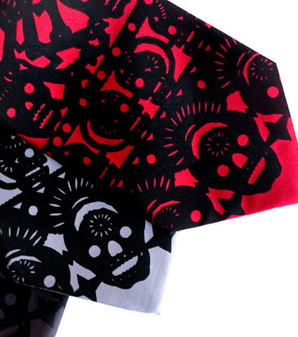 Papel Picado Silk Necktie. Day Of The Dead tie