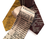 Literature neckties