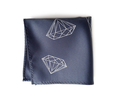 Diamonds Pocket Square