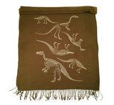Dinosaur Scarf as seen on The Grommet