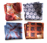 dye sublimation print pocket squares, by cyberoptix