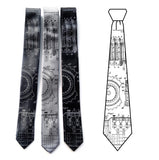 Enigma Machine Patent Drawing Neckties