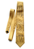 Honey gold Enigma Machine Necktie