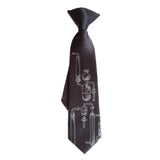 Boys chemistry clip-on tie