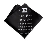Eye Chart Pocket Square
