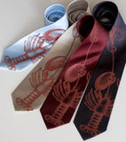 Lobster Neckties, by Cyberoptix
