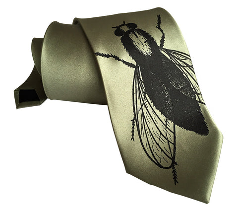 Fly Silk Necktie