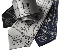 Project Gemini Necktie. Titan Launch Vehicle Diagram Tie
