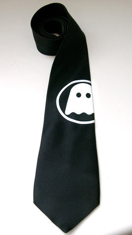Ghostly International Silk Necktie