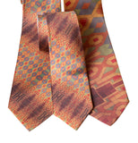 Guardian Building Ceiling Sublimation Print Necktie, Mayan Revival Print, by Cyberoptix