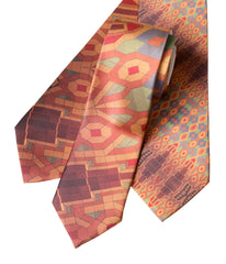 Guardian Building Ceiling Print Necktie, Sublimation Print
