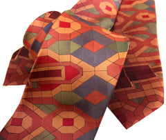 Guardian Building Ceiling Print Necktie